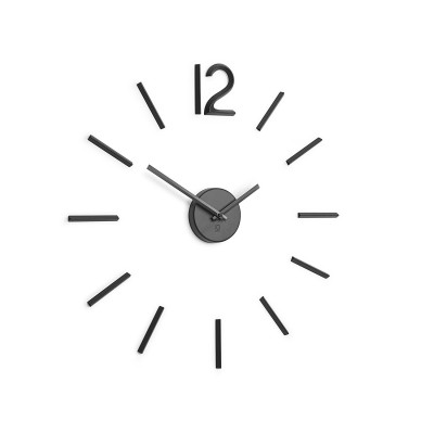 BLINK WALL CLOCK BLACK