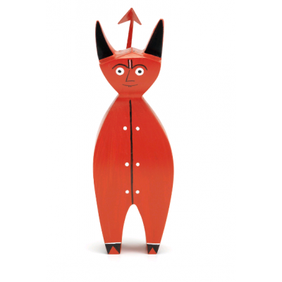FIGURINE EN BOIS - LITTLE DEVIL