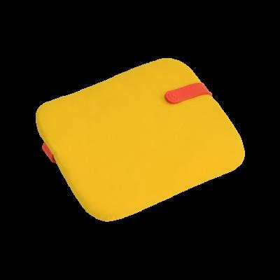 Galette Color Mix pour chaise Bistro - Jaune toucan