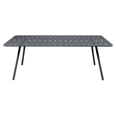 TABLE LUXEMBOURG 207CM CARBONE