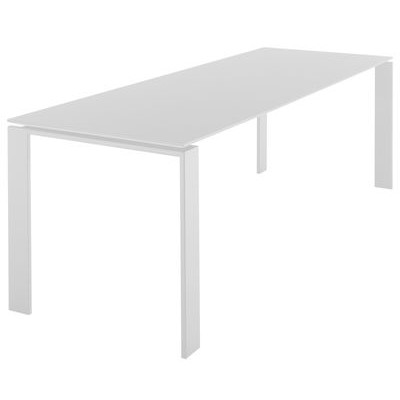 TABLE FOUR 190X79 BLANC-BLANC