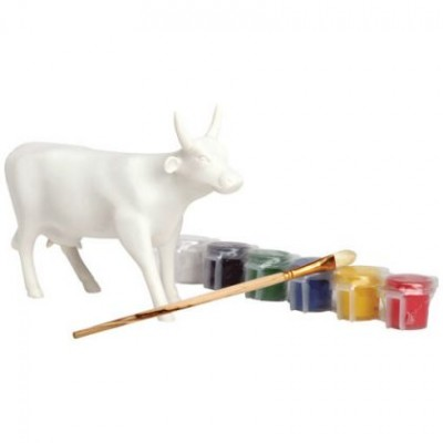 VACHE PAINT YOUR OWN COW MEDIUM