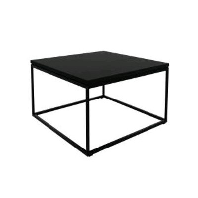 TABLE BASSE THIN CHENE BLACK + PIEDS acier inoxydable...