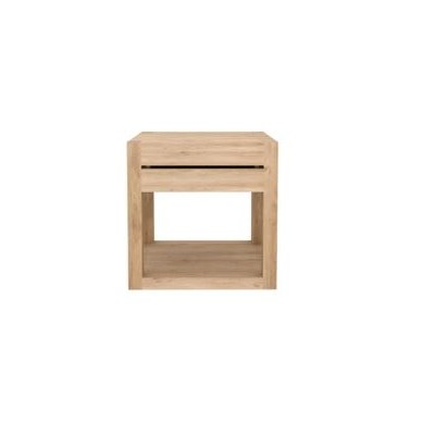 Oak Azur bedside table - 1 drawer