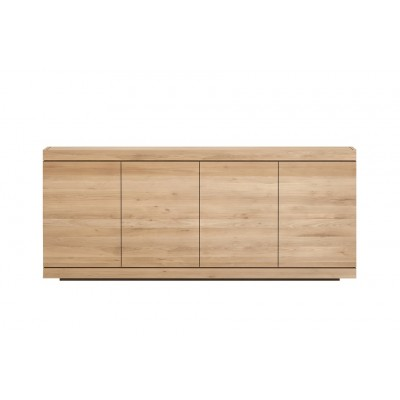 Oak Burger sideboard - 4 doors