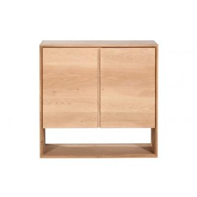 Oak Nordic sideboard - 2 doors