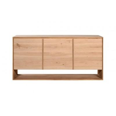 Oak Nordic sideboard - 3 doors