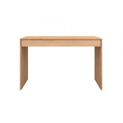 Oak Wave desk - 1 drawer