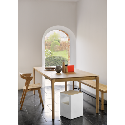 Oak Bok dining table 160x80
