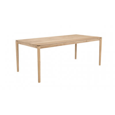 TABLE BOK EN CHENE 200X95X76