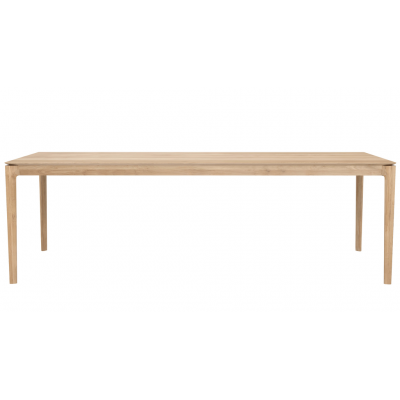 TABLE BOK EN CHENE 240X100x76