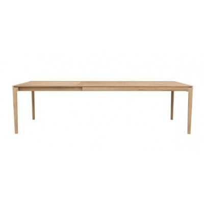 TABLE BOK EN CHENE 180-280X100X76