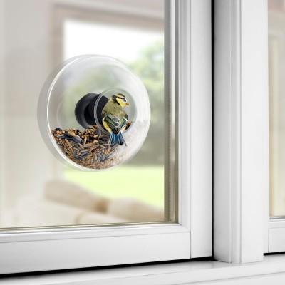 WINDOW BIRD FEEDER LARGE