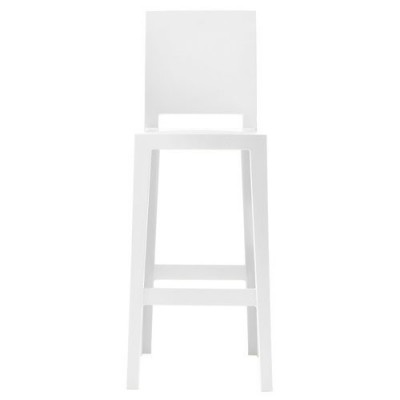 ONE MORE PLEASE TABOURET BLANC HT 65