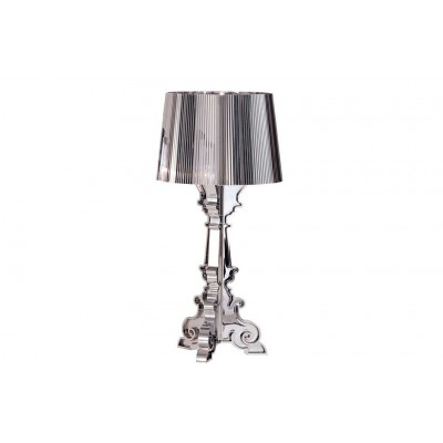 LAMPE BOURGIE ARGENT