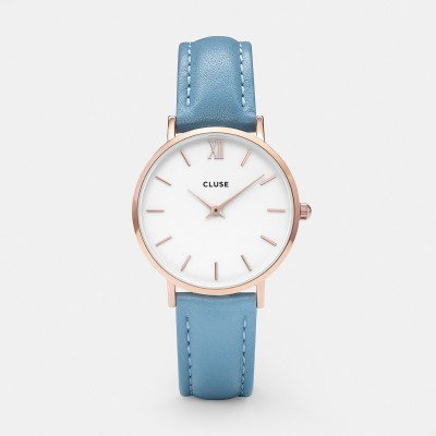 MINUIT ROSE GOLD WHITE/RETRO BLUE