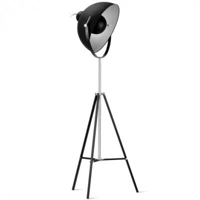 FLOOR LAMP IRON HOLLYWOOD BLACK