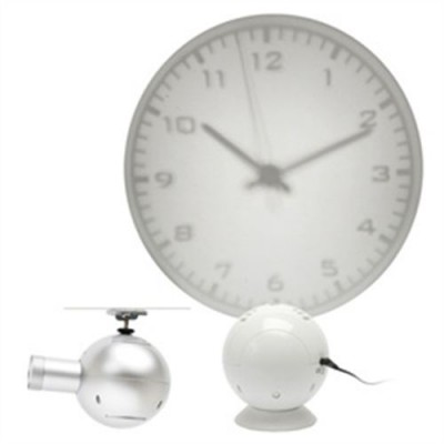 HORLOGE PROJECTION GRIS