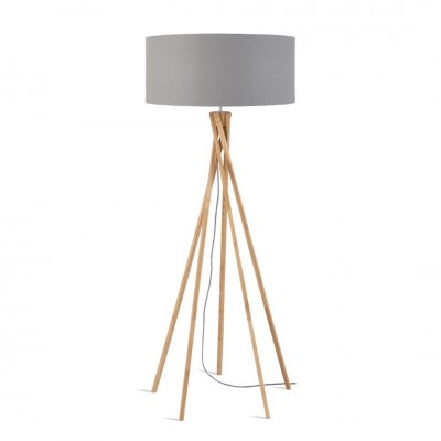 FLOOR LAMP IRON KILIMANJARO LIGHT GREY