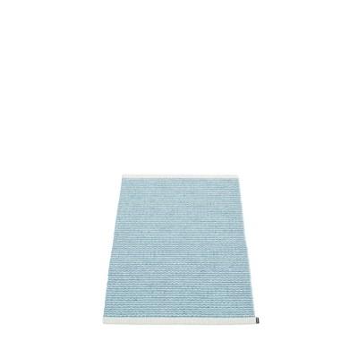 TAPIS MONO MISTY BLUE/ICE BLUE 60X85CM