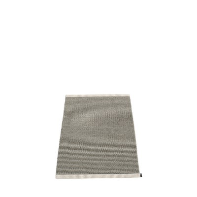 TAPIS MONO CHARCOAL/WARM GREY 60X85CM