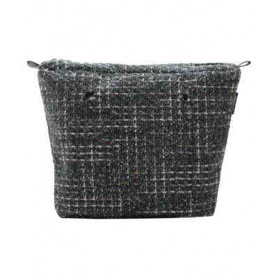 O'BAG INNER BAG TWEED DARK GREY