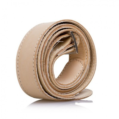 ECO LEATHER SHOULDER STRAP NATURAL
