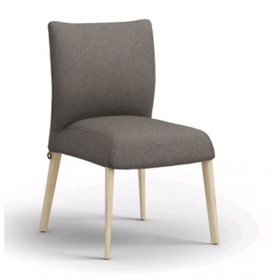 CHAISE OLIVER H47 PIEDS BOIS -A FIXE ORLANDO MOUTARDE...
