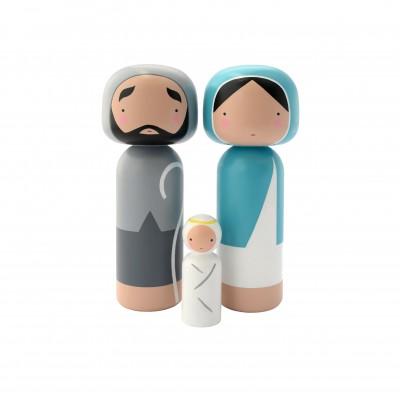 FIGURINES JESUS-MARIE-JOSEPH