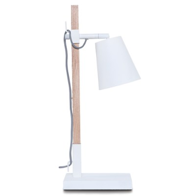 TABLE LAMP IRON SYDNEY ASH/WHITE