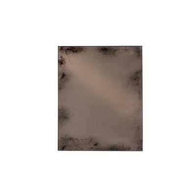 MIROIR BRONZE HEAVY AGED METAL FRAME 122X153X3 CM