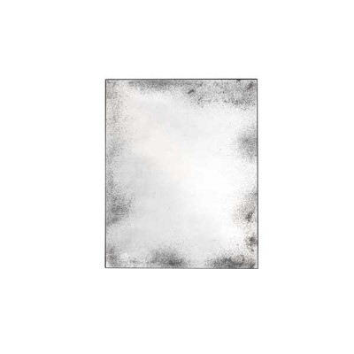 MIROIR CLEAR MEDIUM AGED METAL FRAME 122X153X3 CM