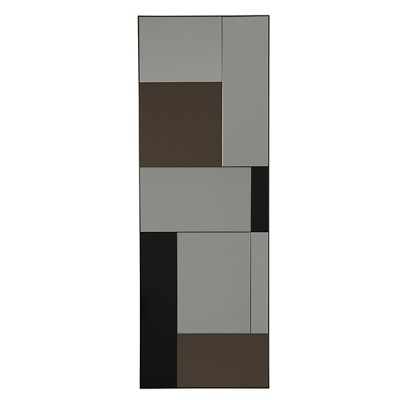 M FLOOR MIRROR METAL FRAME