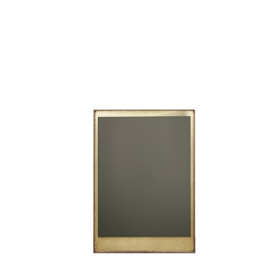 GOLD LEAF - BRONZE WALL MIRROR - WOODEN FRAME- RECTANGLE