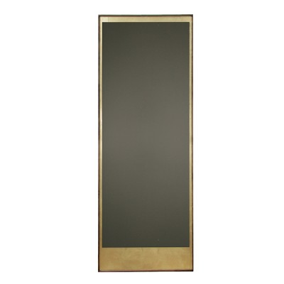 GOLD LEAF - BRONZE FLOOR MIRROR - WOODEN FRAME- RECTANGLE