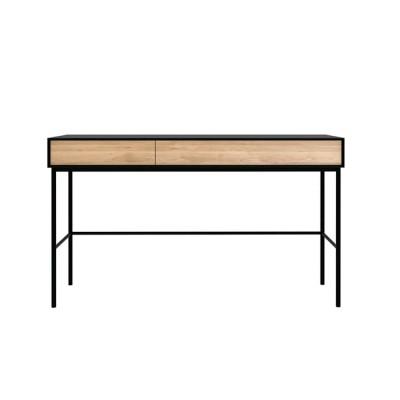 Oak Blackbird desk - 2 drawers - varnished
