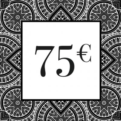 CHEQUE-CADEAU 75€