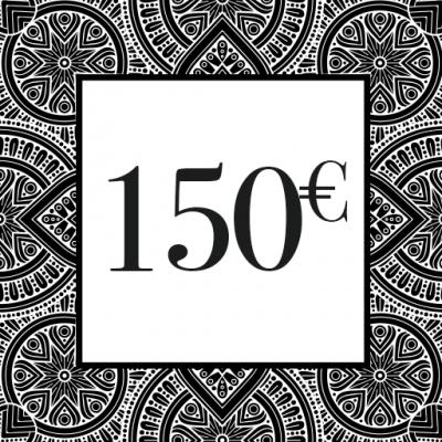 CHEQUE-CADEAU 150€