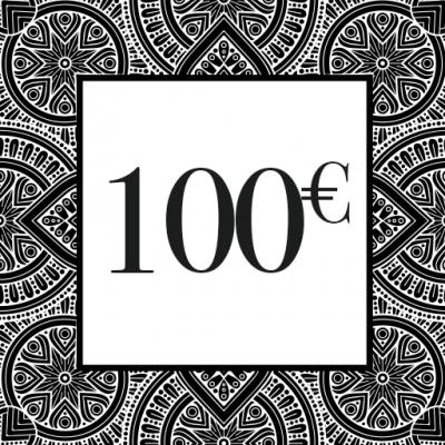 CHEQUE-CADEAU 100€