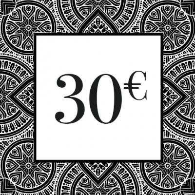 CHEQUE-CADEAU 30€