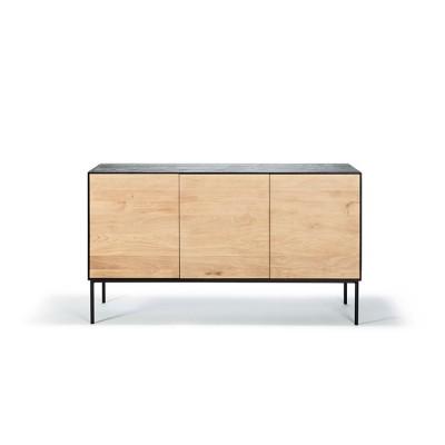 Oak Blackbird sideboard - 3 doors - varnished
