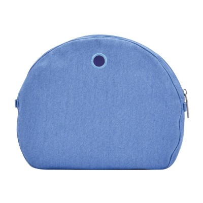 O'BAG INNER O MOON LIGHT CANVAS DELAVE COBALT