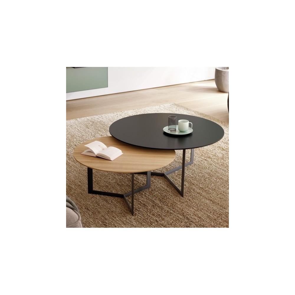 plus de photos 7706e e4403 TABLE DE SALON KABI 65 cm