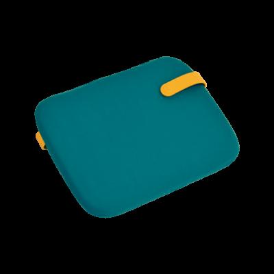 Galette Color Mix pour chaise Bistro - Bleu goa
