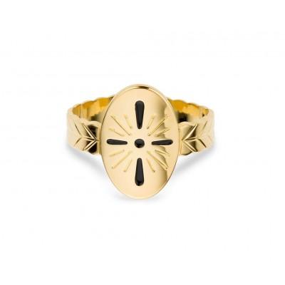 BAGUE SANTORIN - GOLD