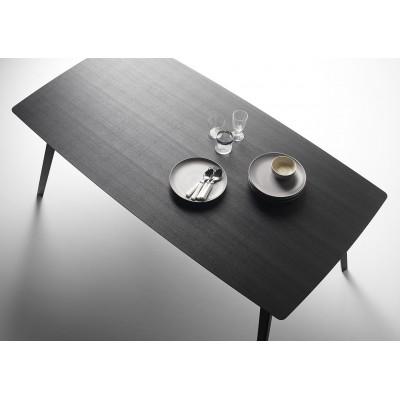 TABLE AISE OVALE NOIRE 173x95cm