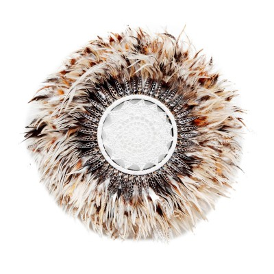 THE BOHO FEATHER WALL JUJU - BROWN - 55