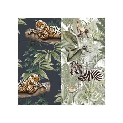 Chilling in the jungle - into the wild 100X80 CM