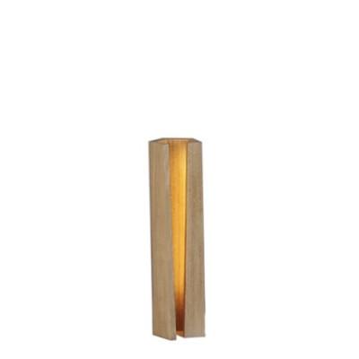 LAMPE ELAGONE 40CM CHENE VERNIS MAT