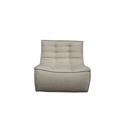 N701 sofa - 1 place - Beige